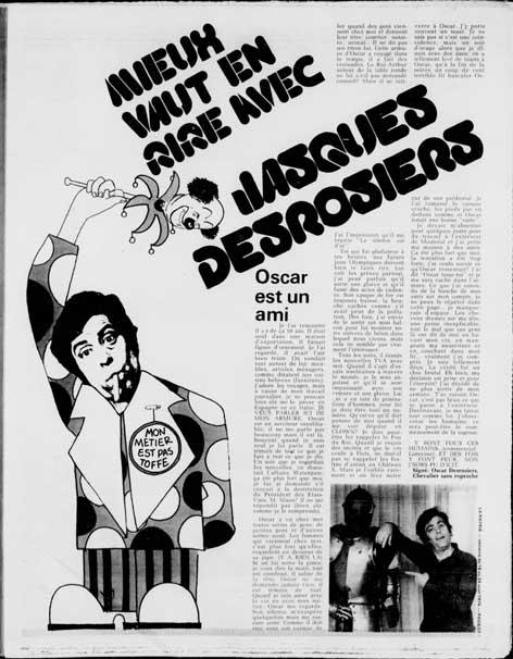 Jacques Desrosiers - Mieux vaut en rire (La Patrie, 1974)
