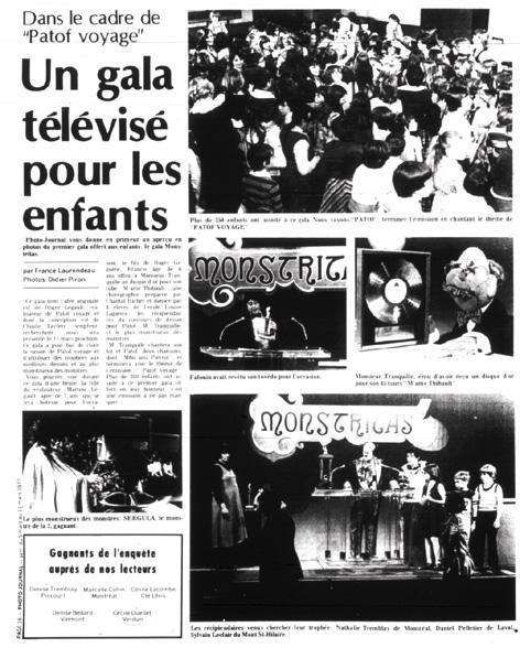 Photo-Journal, 5 mars 1977