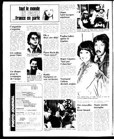 Photo-Journal, 12 mars 1977