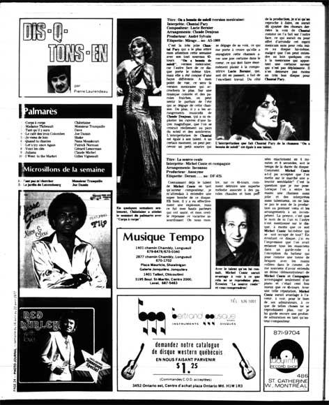 Photo-Journal, 16 avril 1977