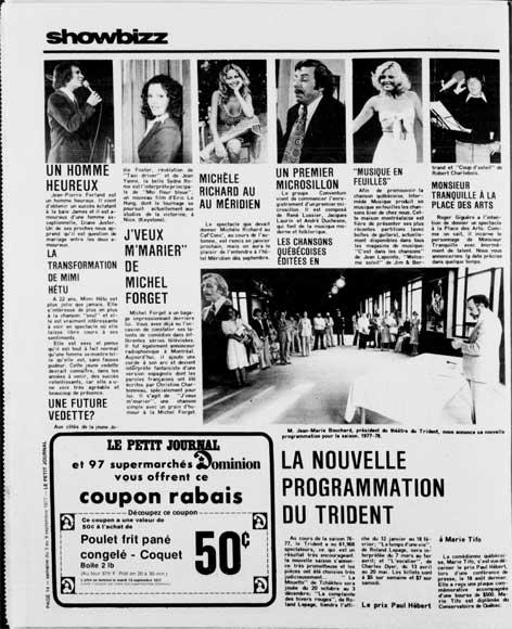Photo-Journal, 3 septembre 1977