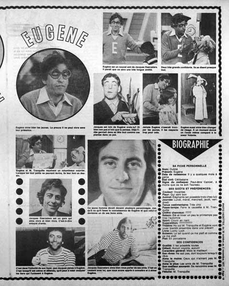 Photo-Vedettes, 30 octobre 1977
