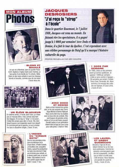 7 jours, 1995-1996
