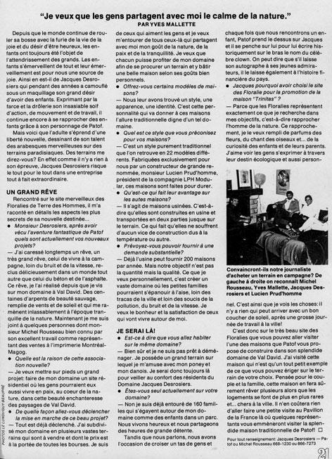 Le Lundi, 2 août 1980