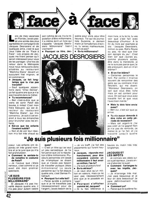 Le Lundi, 29 mai 1982