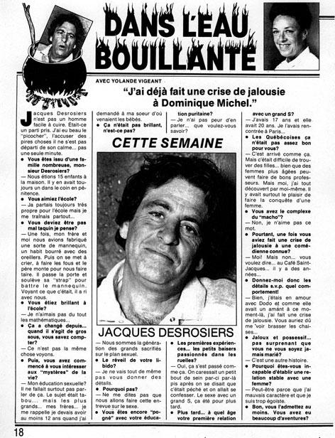 Le Lundi, 25 février 1984