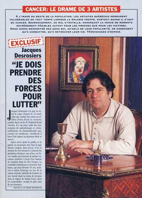 Dernière Heure, 25 mai 1996