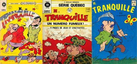 BD Monsieur Tranquille, Héritage