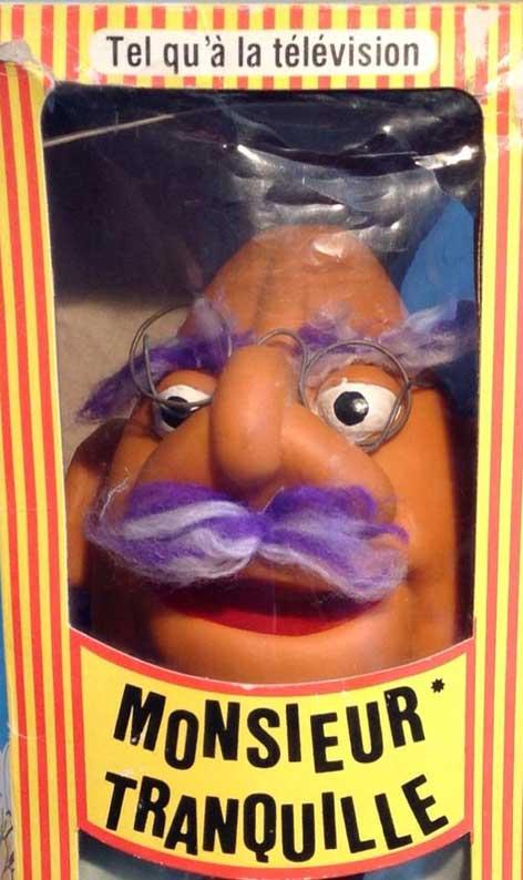 Marionnette Monsieur Tranquille