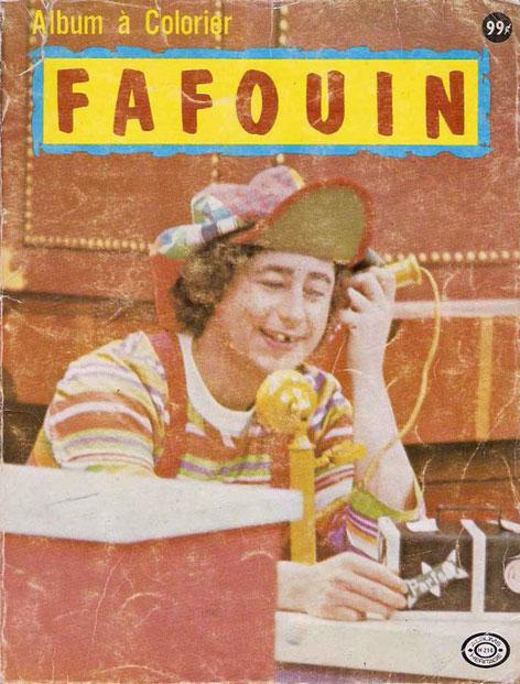 Album à colorier Fafouin